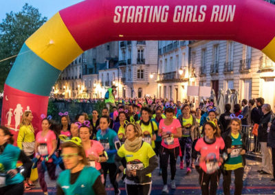 Départ - Starting Girls Run